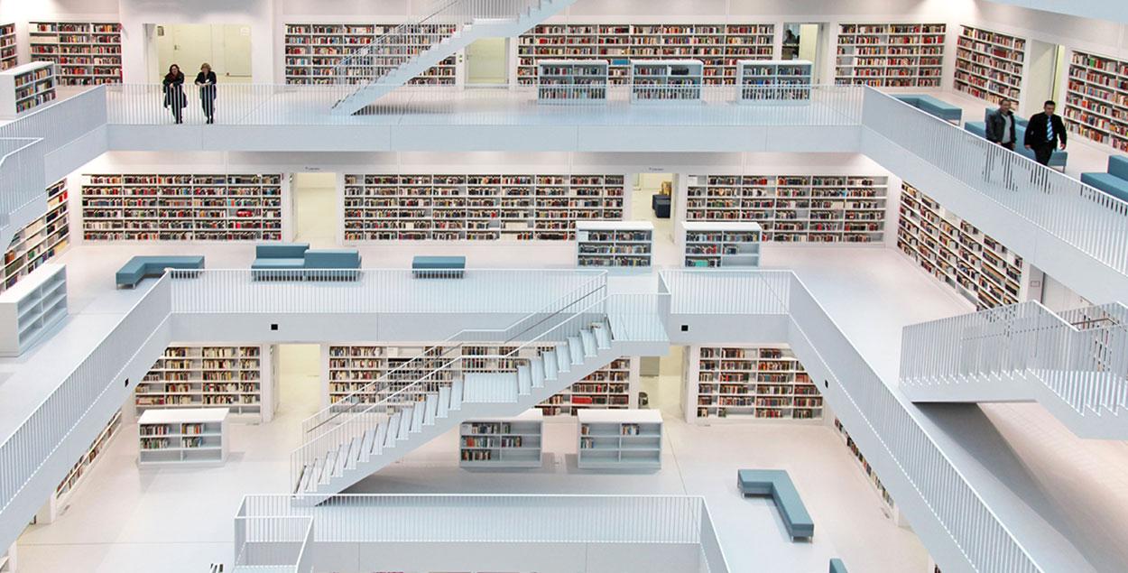 Neue stadtbibliothek stuttgart for Neue architektur stuttgart