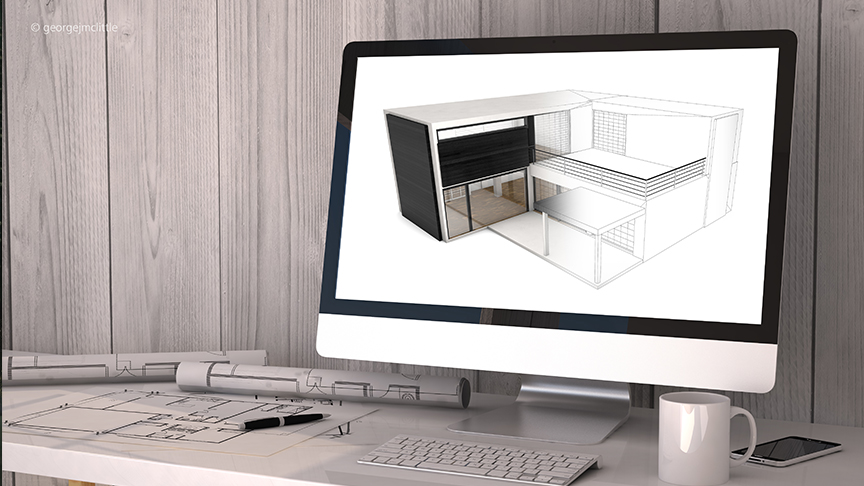 architekturvisualisierung webinar mit cinema 4d. Black Bedroom Furniture Sets. Home Design Ideas