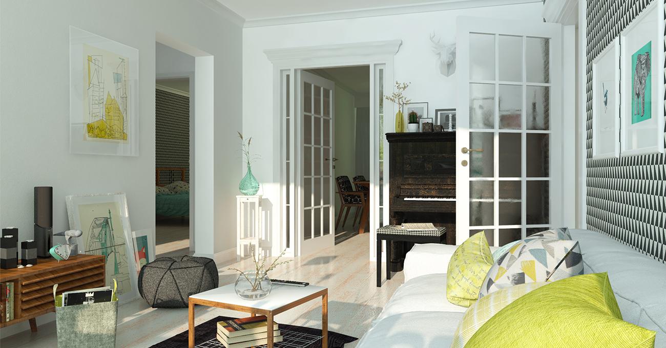 fotorealistische darstellung mit artlantis von computerworks. Black Bedroom Furniture Sets. Home Design Ideas