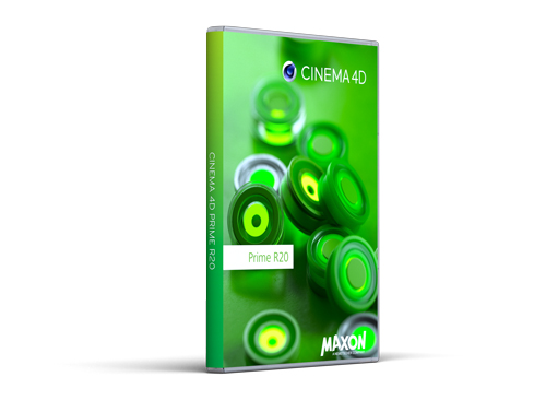 Cinema 4D Prime Packshot