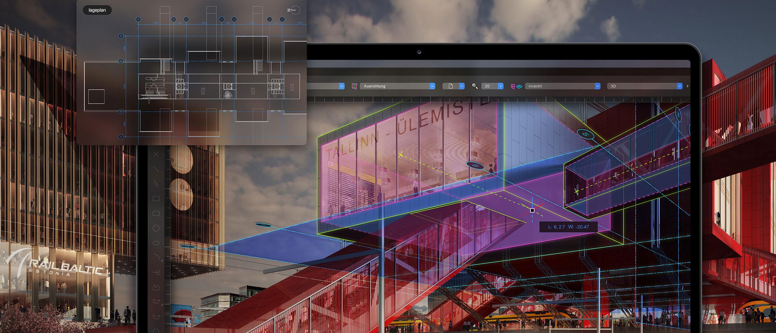 Vectorworks Architektur   CAD  & BIM Software