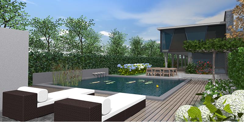 Attractive 3D Gartenplan Mit Vectorworks