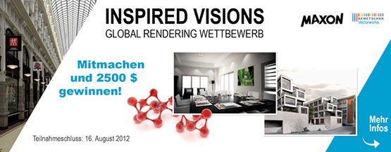 """Inspired Visions 2012"" - Banner"