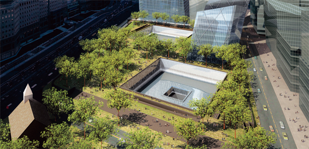 """National 9/11 Memorial"" in New York City"