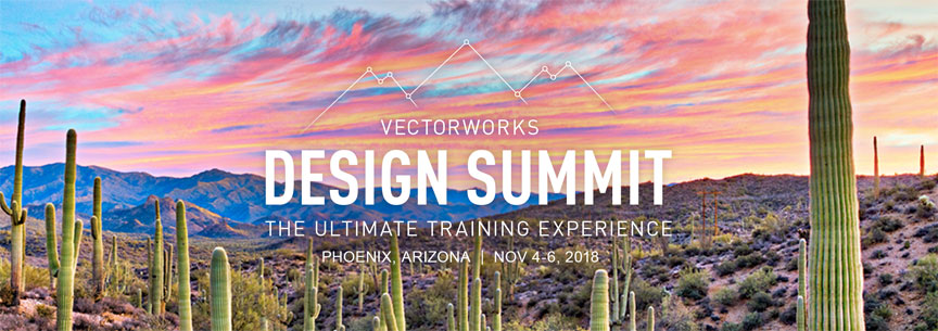 Vectworks Design Summit 2018 in Phoenix, Arizona