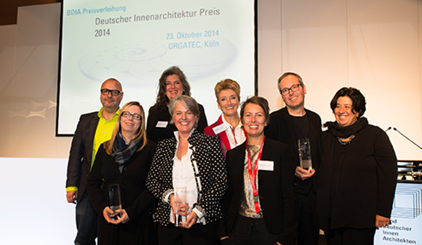 Deutscher innenarchitektur preis 2014 entschieden for Innenarchitektur studenten